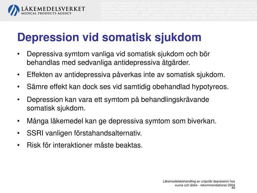 somatiska sjukdomar