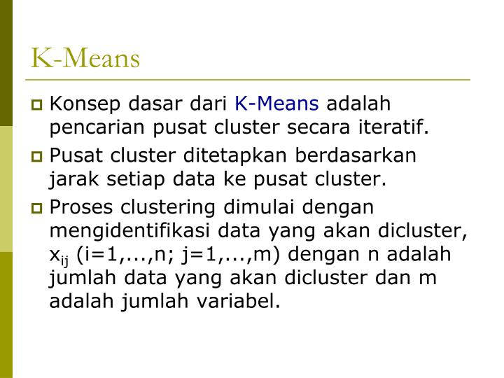 K-Means