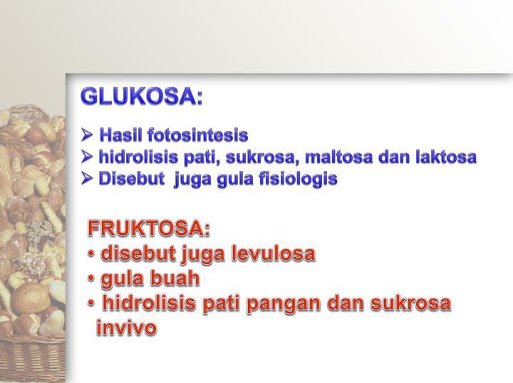 GLUKOSA: