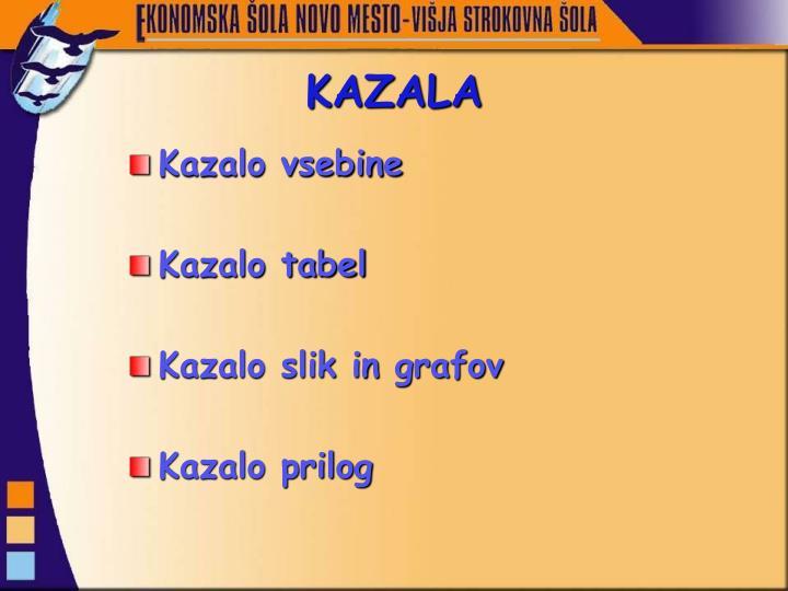 KAZALA