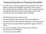 finansal arac l k ve finansal kurumlar