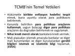 tcmb nin temel yetkileri