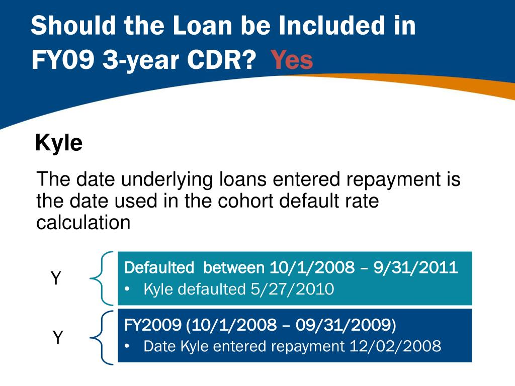 3 Year Loans >> Ppt Decoding Cdr Reports And Correcting Data Powerpoint