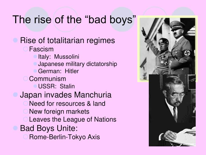 rise of totalitarian dictators stalin mussolini and hitler Rise of totalitarian dictators benito mussolini • italy after wwi - disappointed w/ versailles settlement - severe economic crisis • • • • the law • both franco in spain and hitler in germany would borrow ideas from mussolini stalin's rise to power • born in georgia - southern border of the.