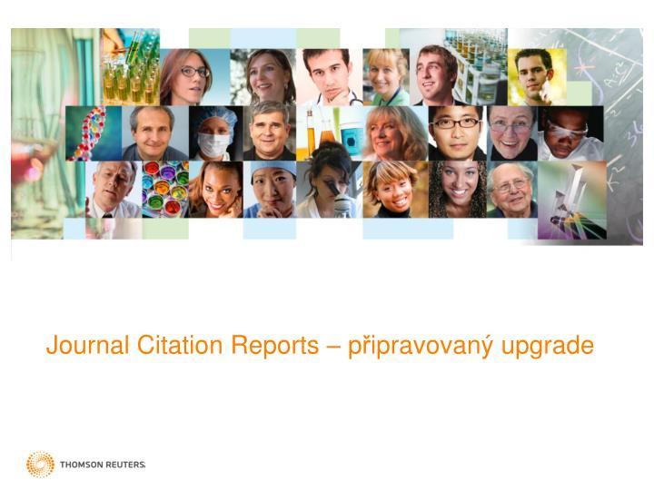 Journal Citation Reports – p