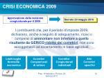 crisi economica 2009