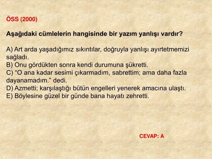 ÖSS (2000)