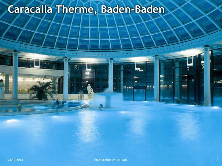 Caracalla Therme, Baden-Baden