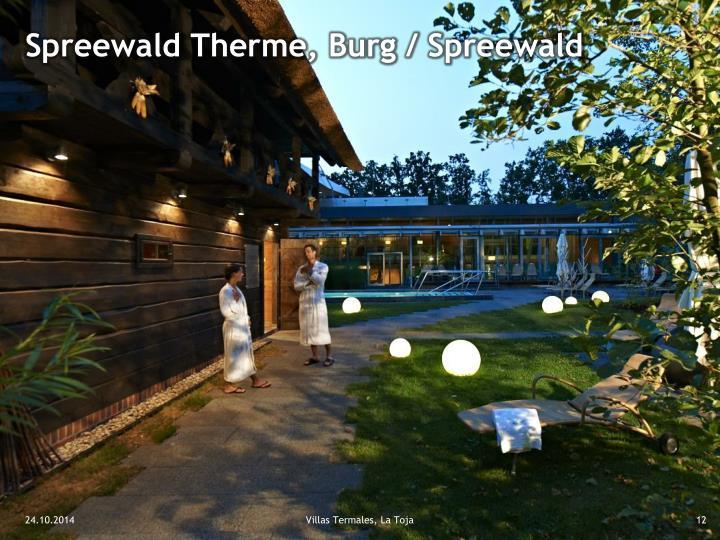Spreewald Therme, Burg / Spreewald