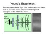 young s experiment
