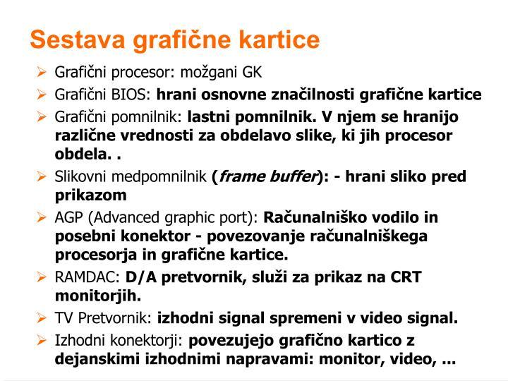 Grafični procesor: možgani GK