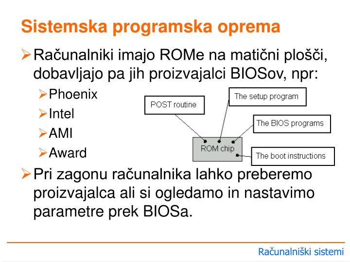 Sistemska programska oprema