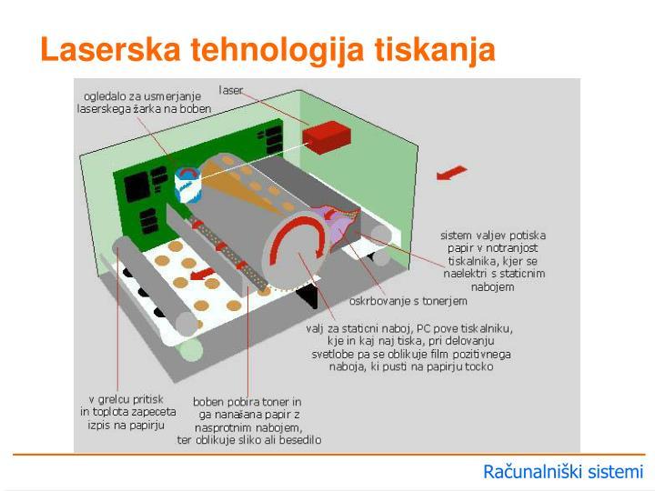 Laserska tehnologija tiskanja