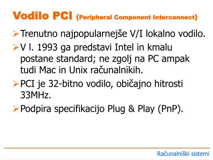 Vodilo PCI