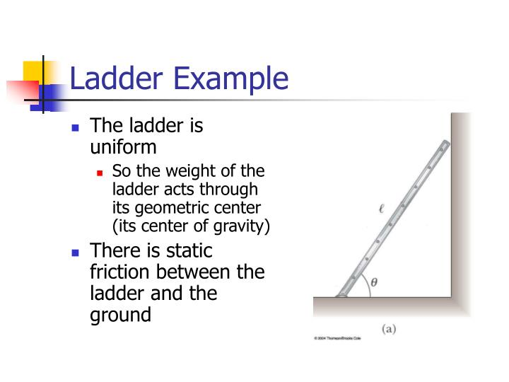 Ladder Example