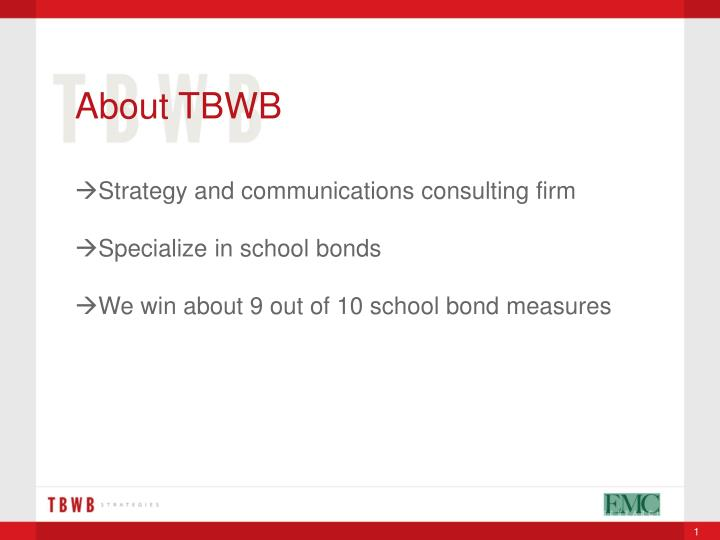 About TBWB