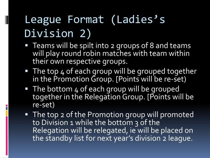 League Format