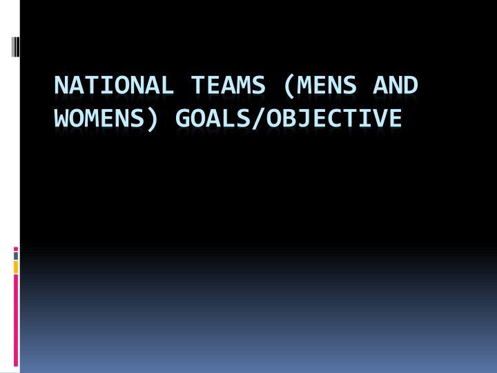 National Teams (