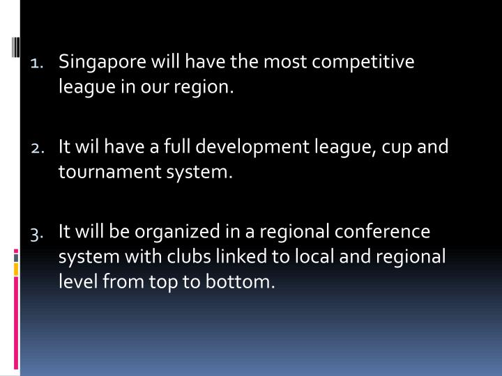 Singapore will have the most