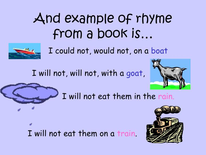 Ppt Rhyme Lesson Powerpoint Presentation Id6472597