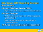 sql server 2 000 reporting services report designer
