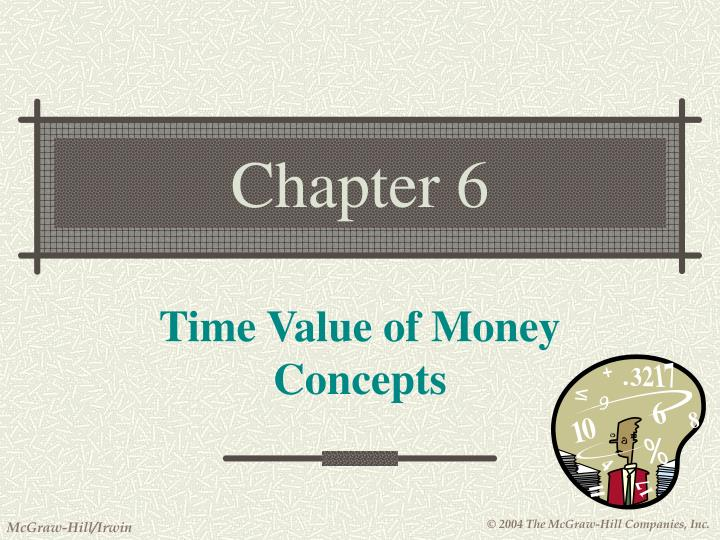 time value of money concepts n.