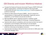 odi diversity and inclusion workforce initiatives