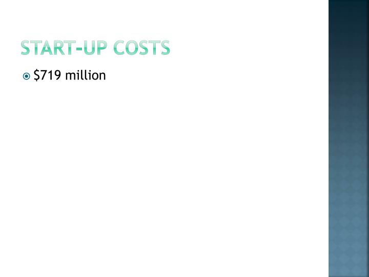 Start-up costs