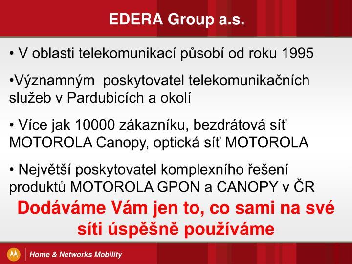 Edera group a s
