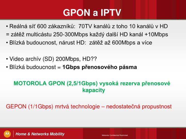 GPON a IPTV