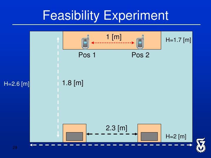 Feasibility Experiment