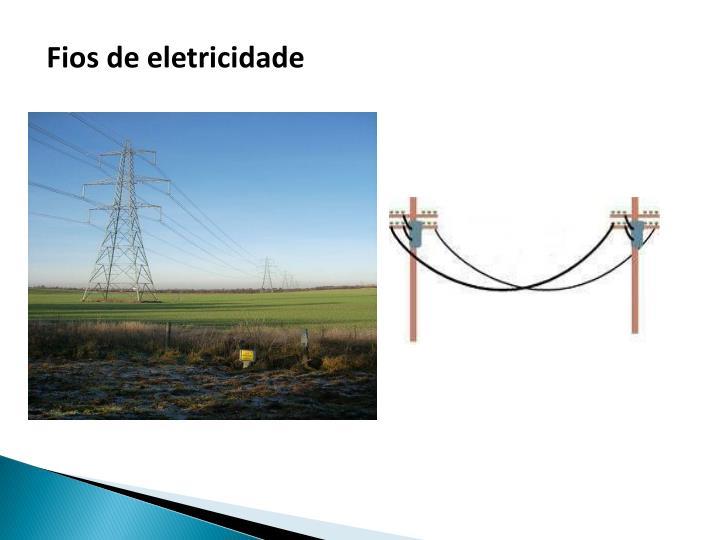 Fios de eletricidade