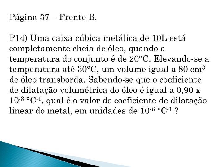 Página 37 – Frente B.
