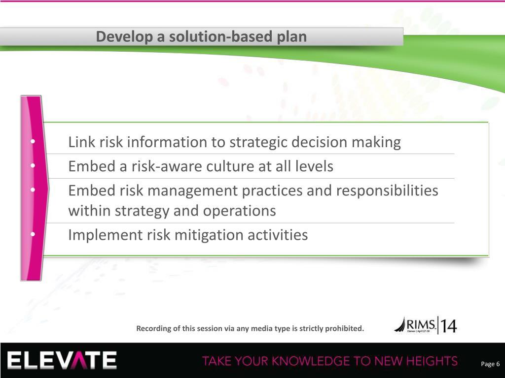 PPT - Selling Your Risk Management Program PowerPoint Presentation