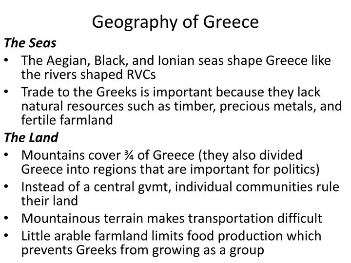 geography of greece n.