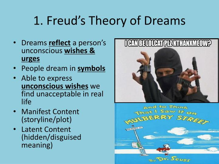 Ppt 4 Dream Theories Powerpoint Presentation Id6479920