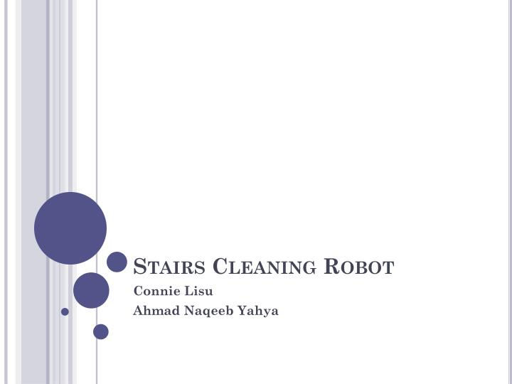 stairs cleaning robot n.
