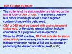 read status register1