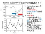 normal outburst superhump