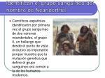identifican el grupo sangu neo del hombre de neanderthal