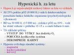 hypoxick h za letu