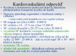 kardiovaskul rn odpov