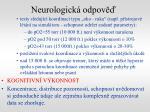 neurologick odpov1