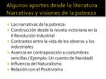 algunos aportes desde la literatura narrativas y visiones de la pobreza