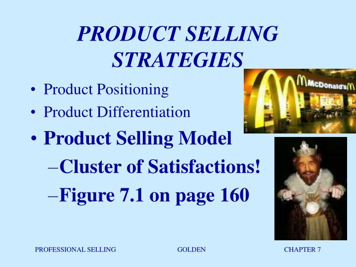 product selling strategies n.