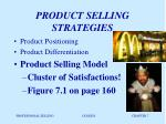 product selling strategies