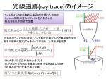 ray trace