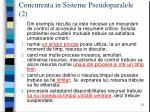 concurenta in sisteme pseudoparalele 2