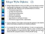 edsger wybe dijkstra 2
