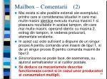 mailbox comentarii 2